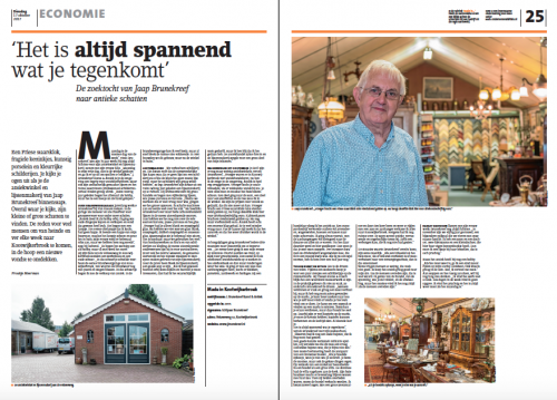 Barneveldse Krant - Interview J. Brunekreef