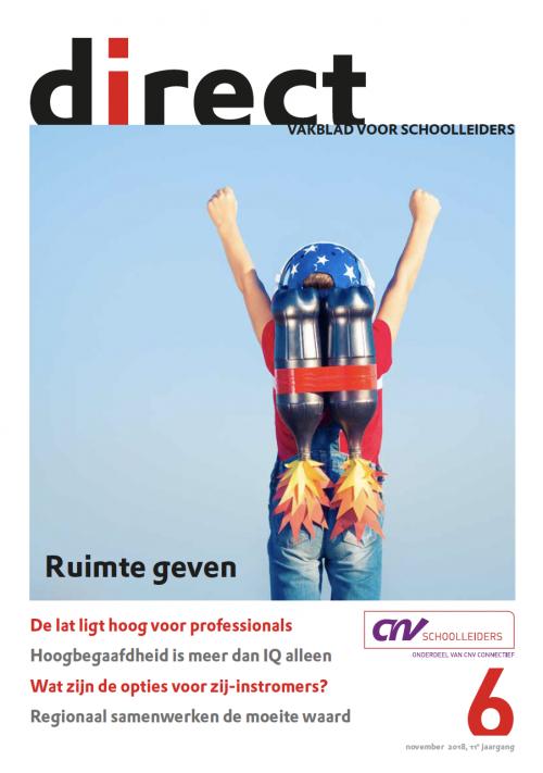 Direct, het vakblad van CNV Schoolleiders