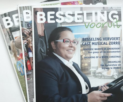 Eindredactie relatiemagazine Besseling Vooruit
