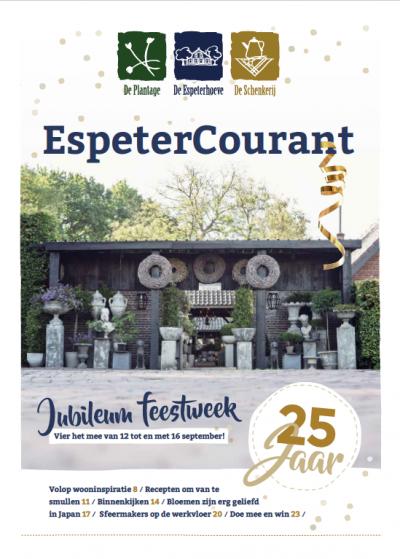 Jubileummagazine voor de Espeterhoeve
