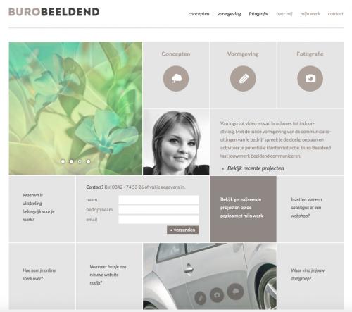 website eindredactie webteksten buro beeldend